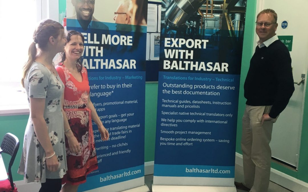 New exhibition stands for Balthasar